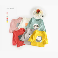 Baby Boys Cotton T Shirt Kids Brand Design Cartoon T Shirts Brothers Sisters Clothing Baby Girls
