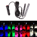 Car-styling Led Car Interior Atmosphere Lights Ambient Colorful Feet Lighting For Audi Bmw Peogeot 206 Renault Volkswagen Golf