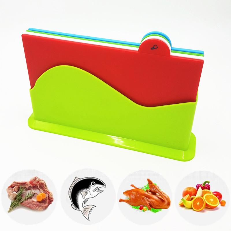 To encounter New Kitchen Cutting Board Chopping Board Blocks Separately Cutting Board 4pcs/set Kitchen Utensils Cutting Block