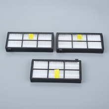 3Pcs Replacement Dust Filters For iRobot Roomba 800 900 Series 870 880 980 Robot Vacuum Cleaner Filter Parts Accessories replacement parts for irobot roomba 800