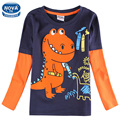 boys clothes children t shirts nova kids clothes boy t shirt 2015 new arrival 100% casual long sleeve in spring/autumn A6501
