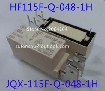 5Pcs 100%Original New HONGFA JQX-115F-Q HF115F-Q 048-1H JQX-115F-Q-048-1H HF115F-Q-048-1H 20A 48VDC MINIATURE HIGH POWER RELAY