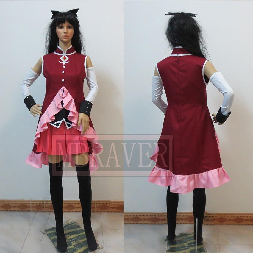Puella Magi Madoka Magica Sakura Kyouko cosplay costume halloween