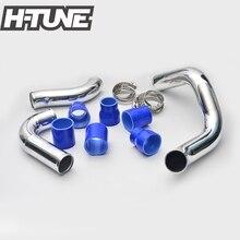 H-TUNE Оригинальный Алюминиевый Turbo Интеркулера Трубопроводов Комплекты для Navara D40 2.5L