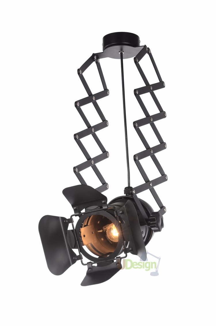 free shipping Designer loft vintage industrial lighting foldable lamp pendant lamp 5