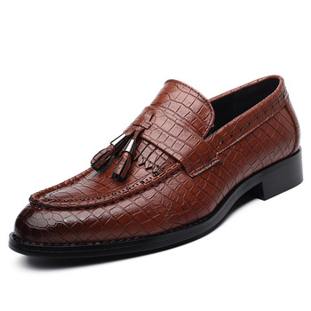 New Full Handmade Sewing Comfortable Men Top Quality Genuine Leather Slip-on Round Toe Flats Male Oxfords Casual Loafers Shoes