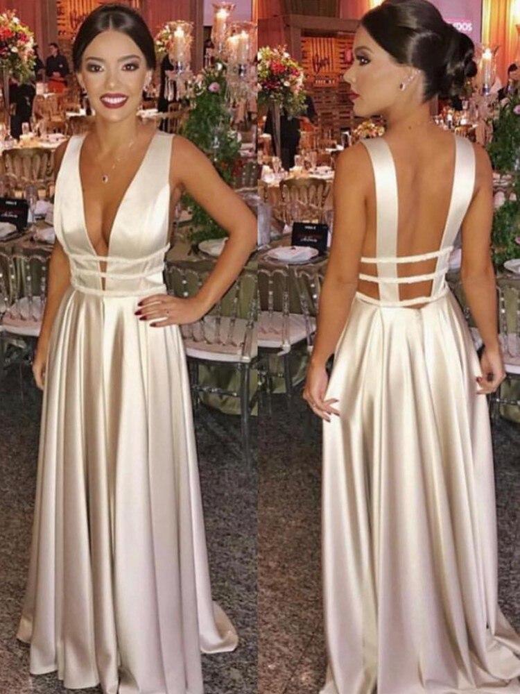 Sexy grande taille robe de soirée de bal 2019 longue robe de Gala de fête