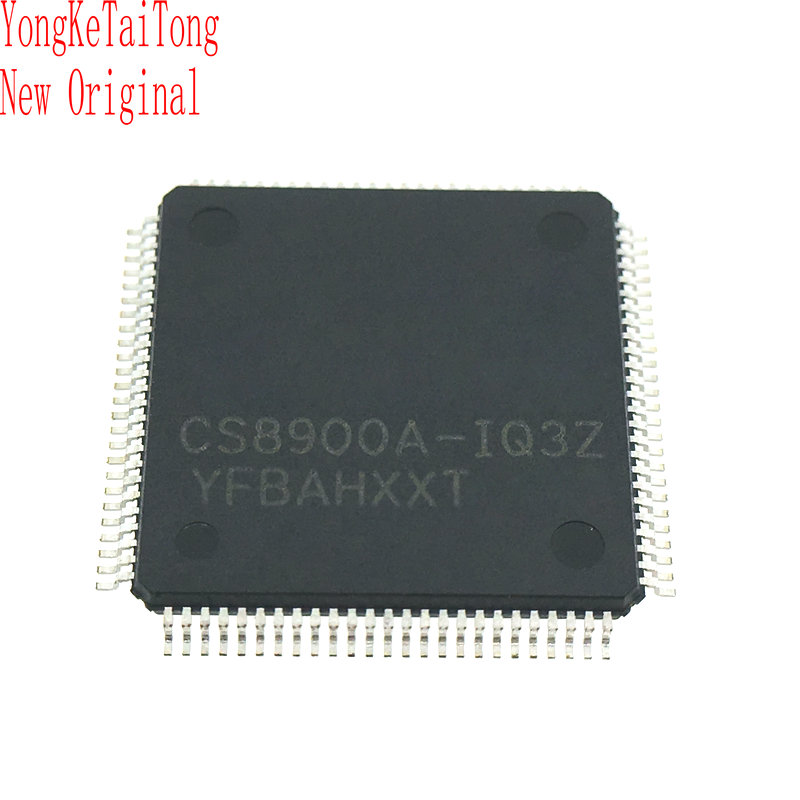 10PCS/LOT <font><b>CS8900A</b></font>-IQ3Z <font><b>CS8900A</b></font>-IQ3 CS8900 8900 QFP100 image