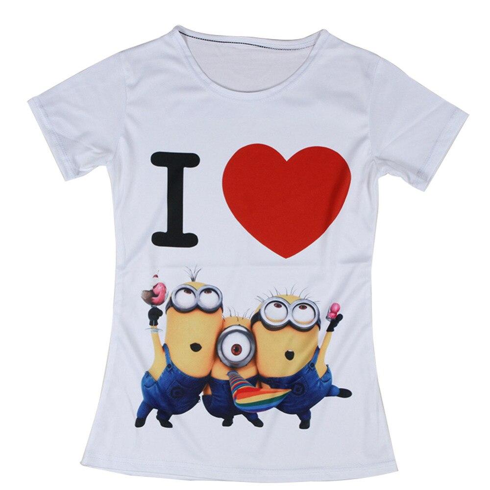 Minion T Shirt Womens