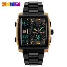 SKMEI Top Luxury Brand zegarki sportowe męskie wodoodporny elektroniczny LED cyfrowy nadgarstek zegarek dla mężczyzn mężczyzna zegar Relogio Masculino