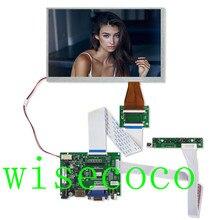 LCD 800*480 TTL LVDS בקר לוח VGA 2AV 60 פין עבור 7 אינץ A070VW04 תמיכה באופן אוטומטי פטל Pi נהג לוח