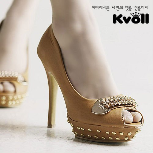 2011 new lady's high heel shoes L2890-1 ,peeptoe shoes 35,36,37,38,39 sizes, black,brown color,5pcs/lot USA etc Free shipping!