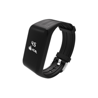 New Fitness Tracker K1 Smart Bracelet Real time Heart Rate Monitor Charging 2 hours Useing 1 weeks waterproof watch