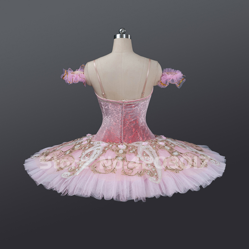 f03301353d 2019 Adult Child Pink Professional Ballet Tutus Ballet Dance Pancake ...