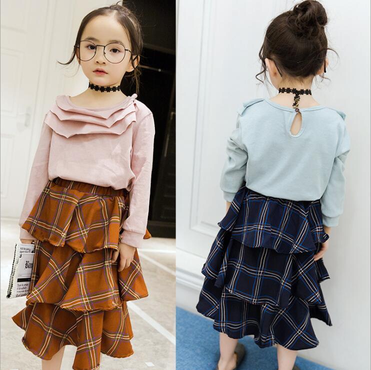 Popular Girls Plaid Skirt-Buy Cheap Girls Plaid Skirt lots from ...