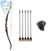 One Person Archery Tag Arrow Game Equipment Set Outdoor Fun Sports Game Shooting Target Bow Shoot Playground Accessory