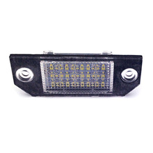12V 24 LED Plate Light License Plate Light Number Accessories Lamps Car Exterior For Ford Focus