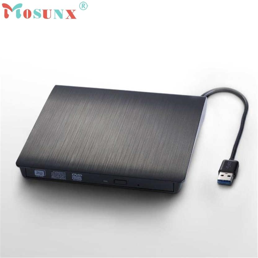 Brand New  Black External Slim USB 3.0 DVD RW DVD-ROM CD-RW DVD-RW Read Writer Burner Combo  Drive Play U0302 джой dvd