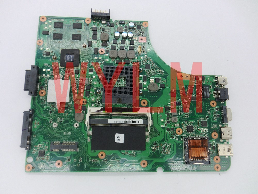 free shipping K53SD GT610M 2GB N13M-GE1-S-A1 mainboard REV 5.1 For ASUS A53S X53S K53SD Laptop motherboard 100% Tested Working new non integrated laptop motherboard for asus k55vd r500vd rev 3 0 gt610m 2gb usb3 0 n13m ge1 s a1 hm76 pga989 ddr3 100% test