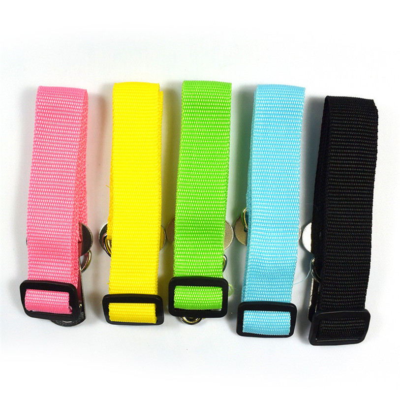 Candy Color Vehicle Car Seat Belt Seatbelt Harness Lead Clip Pet Cat Dog Safety Belts Nylon Solid Pet Dog Cat Puppies 40JA10 (10)