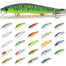 wLure 14g 11cm 2 Beads Weight Transfer 2 Bead in Head for Twitch Easy Long Casting Tiny Wobble Sinking Minnow Fishing Lure M262S