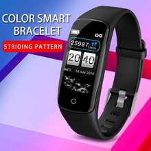 Bluetooth Smart Watch Sport Pedometer Heart Rate Activity Ste  Counter Calorie Plating Bracet For Kids Women Men