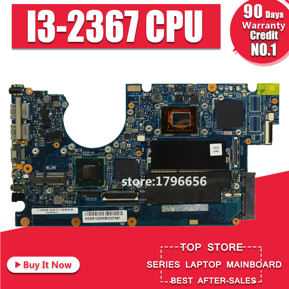UX32A Motherboard I3 CPU REv:2.1 For ASUS UX32VD UX32A Laptop Motherboard UX32A Mainboard UX32A Motherboard Test 100% Ok