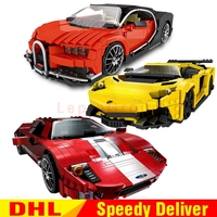 XingBao 03008 Yellow Flash Racing 03009 Gallon Super 03011 Red Phantom Racing Car Blocks Bricks lepinings Toys Model Clone Lepin