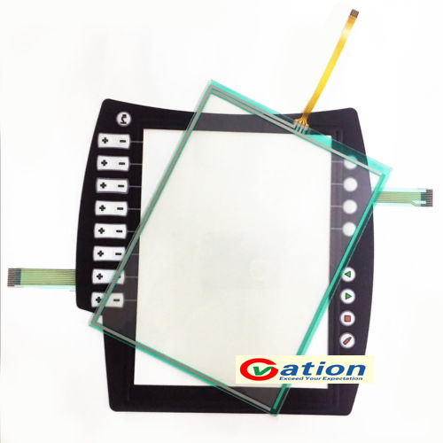New Membrane Keypad & touch glass panel for KUKA teach pendant KRC4 00-168-334 new membrane keypad operation panel button mask for mp270 10 6av6542 0ad15 2ax0