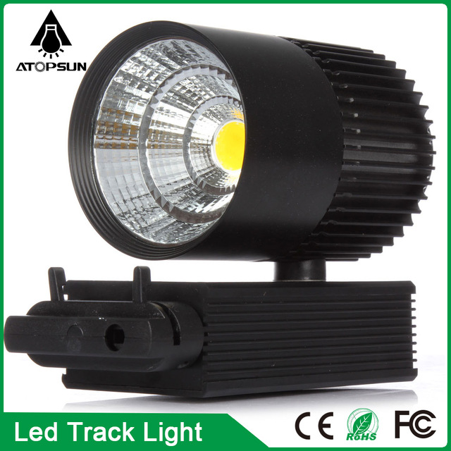 LED Track Light 30W COB Spotlights AC85-265V Modern Ceiling Home Deco Track Rail Spot Fixture for Retail Shop Art Gallery