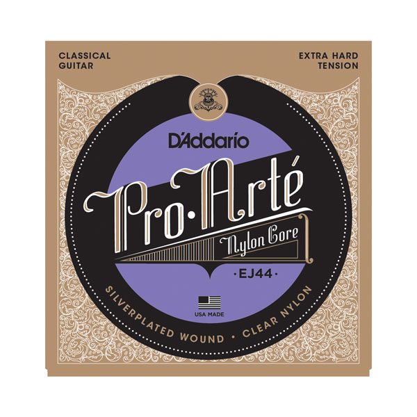 D'addario  EJ44 EJ45 EJ46 Pro Arte Nylon Classical Guitar Strings set, Normal/Hard Tension savarez 500arh classical corum standard tension set 024 042 classical guitar string