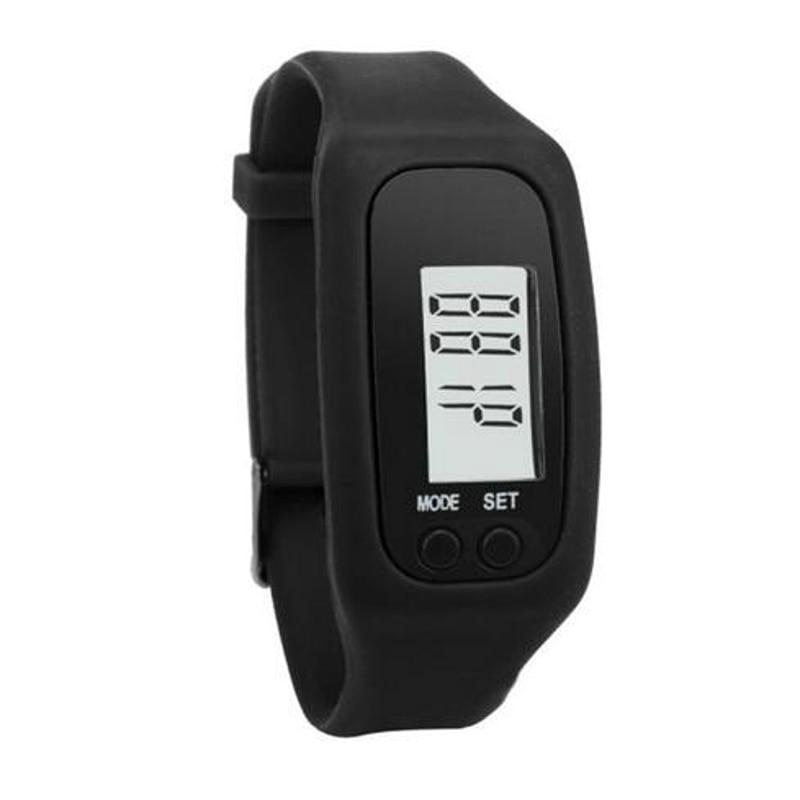 Digital LCD Pedometer Run Step Calorie Watch Fashion Digital Watch Sport Bracelet Pedometer Watch Sports Watches LED Bracelet