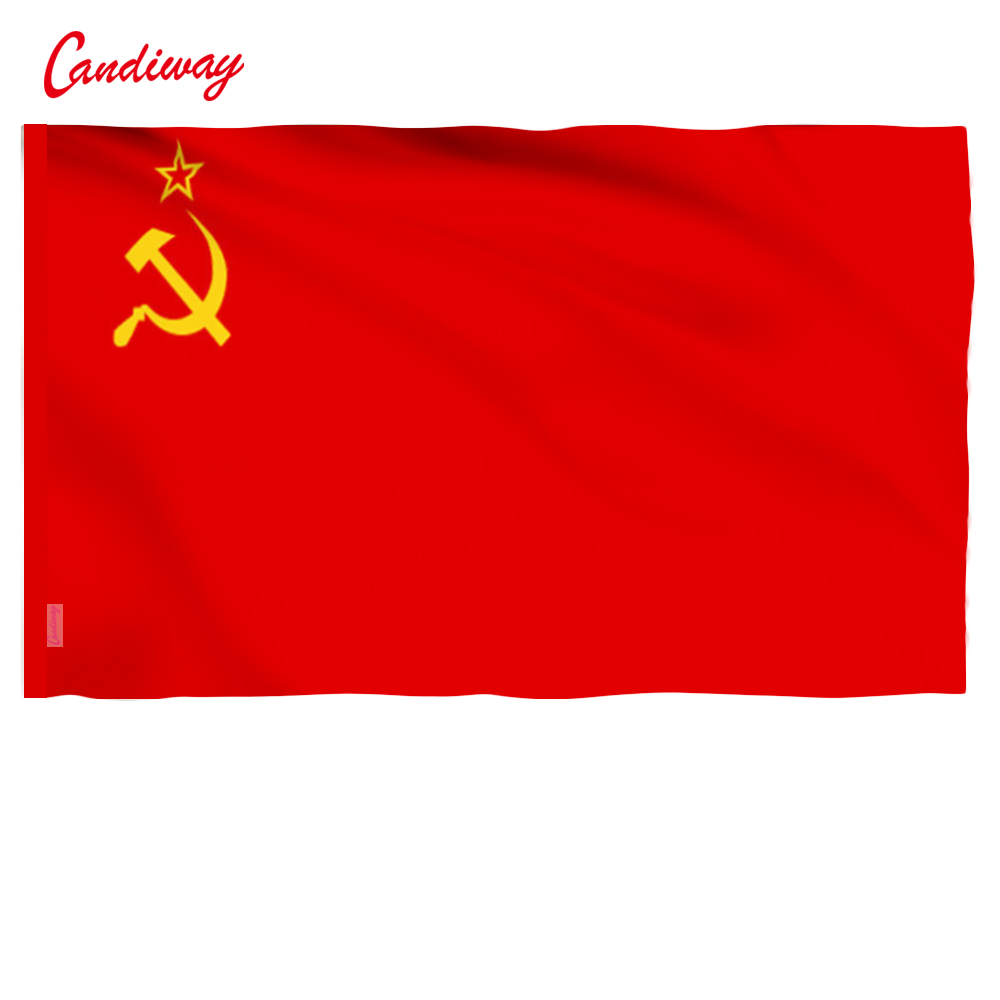 90 x 60 cm CCCP flag Red revolution Union of Soviet Socialist Republics Indoor Outdoor USSR FLAG Russian flag NN001