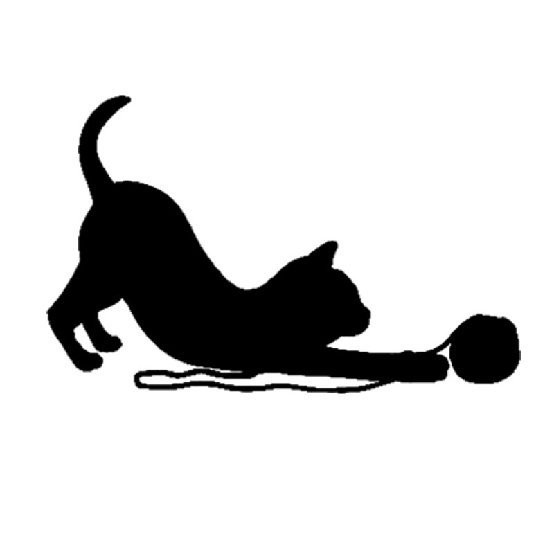 Cat Yarn Ball Animated Gif