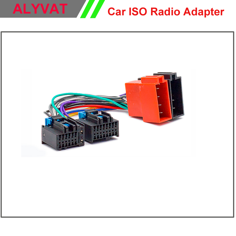 Car ISO font b Stereo b font Adapter Connector For Chevrolet 2006 2011 Saab 9 5 compare prices on auto stereo wiring harness online shopping buy auto stereo wiring harness at gsmx.co