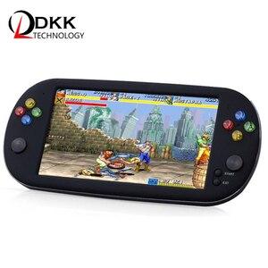 Image 1 - Retro Arcade video game console 8 GB geheugenkaart met 1500 gratis games ondersteuning TV Out Draagbare Gaming Console voor ps1 voor neogeo