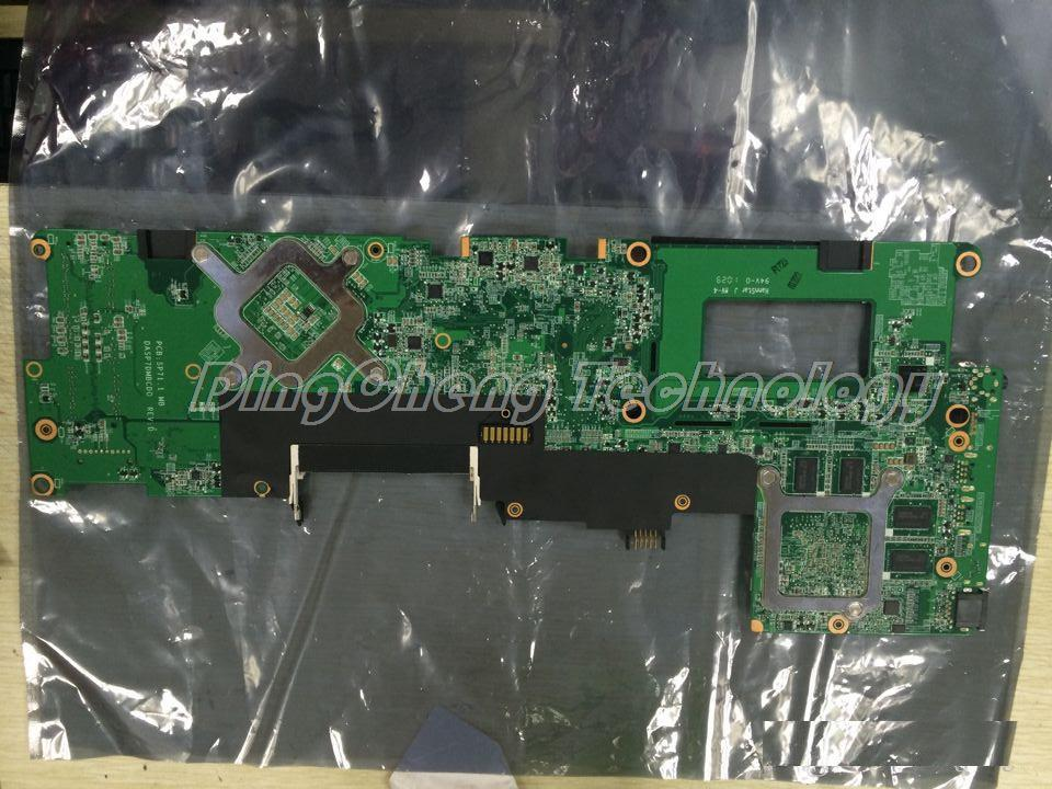 SHELI laptop Motherboard for hp ENVY15 notebook mainboard 597597-001 PM55 chipset 100% Tested цена