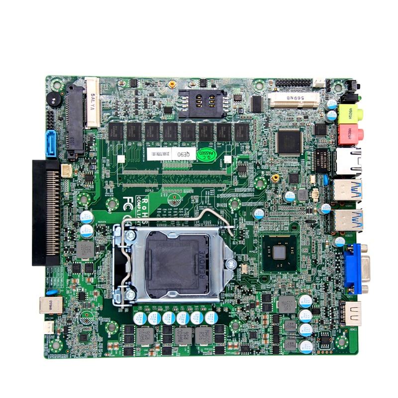 Mini-ITX материнская плата с OPS интерфейс для digital signage ...