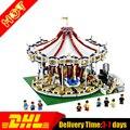 Lepin 15013 moc ciudad calle grand carrusel creador kits set juguetes de los ladrillos del bloque hueco compatible 10176
