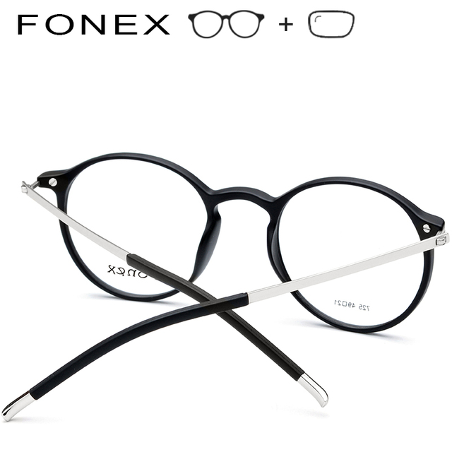 a8674d40b9 TR90 High Quality Round Prescription Glasses Frames Men Women Vintage  Eyeglasses Myopia Optical Frame Spectacles Retro Eyewear