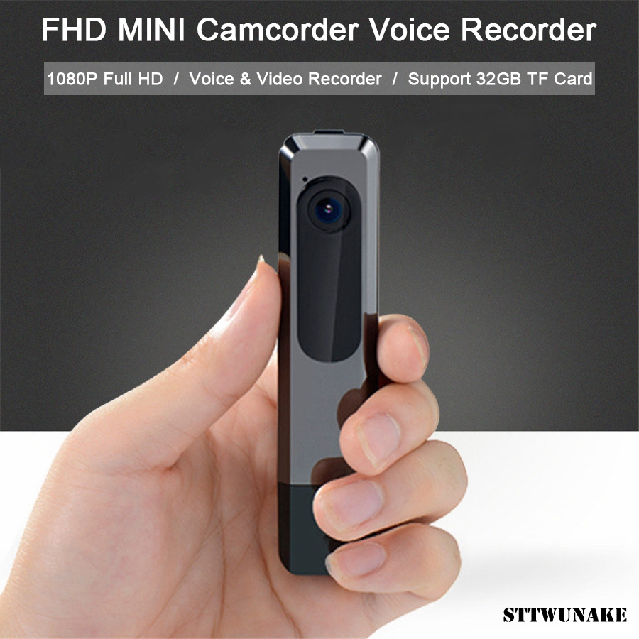 STTWUNAKE Mini Camera DV Uninterrupted Recording 1080P Full HD Night Vision Micro Camera Sport Camcorder Voice