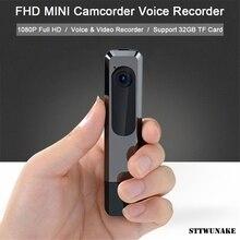 Sttwunake mini câmera dv gravação ininterrupta 1080p visão noturna hd completa micro câmera esporte filmadora gravador de vídeo voz