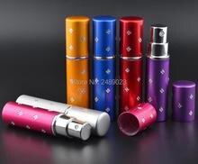 5ml Mini Portable Travel Refillable Perfume Atomizer Bottle for Spray Scent Pump Case Empty Luxury  Perfume Bottles 1pc