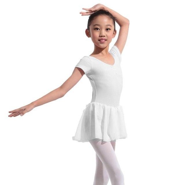 c436e775e Kids Girls Ballet Dress Kid Leotard Skirts Dancewear Gymnastics ...