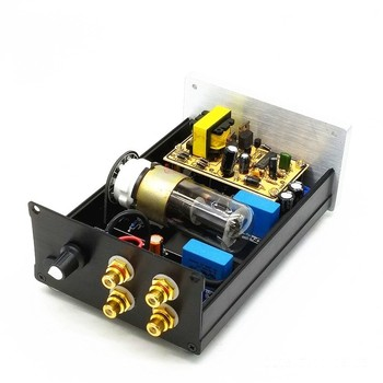 TIANCOOLKEI TUBE-01 Handmade DC12V version 6N8P vacuum tube preamplifier For audio amplifier