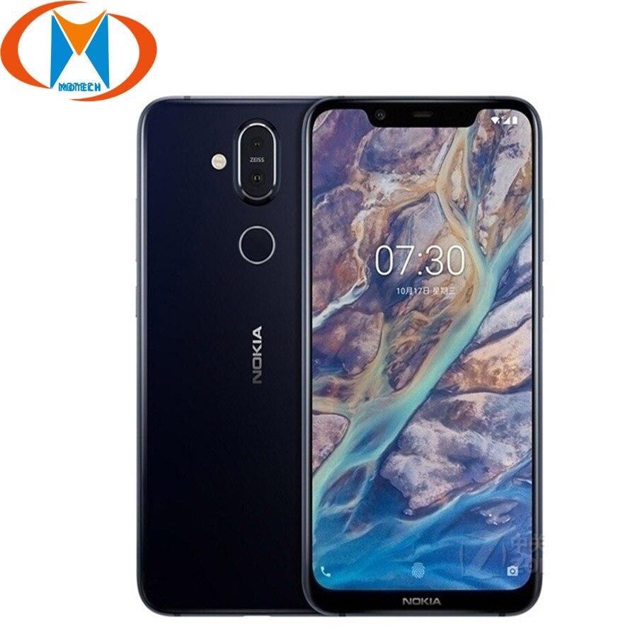 Nokia 8.1 wersja globalna TA 1119 Android 9.0 snapdragon do telefonu komórkowego 710 4GB 64GB octa core 20MP kamera 4G LTE NFC Smartphone w Telefony Komórkowe od Telefony komórkowe i telekomunikacja na AliExpress - 11.11_Double 11Singles' Day 1