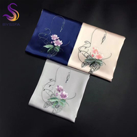 [BYSIFA] Top Grade Silk Scarf Shawl Women 2018 New Embroidery Long Pure Silk Ladies Long Scarves Wraps Spring Autumn Scarf Cape