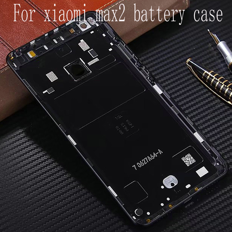 For Xiaomi Mi Max 2 Max2 Battery Cover 6 44 Inch Back Rear Battery Housing Door