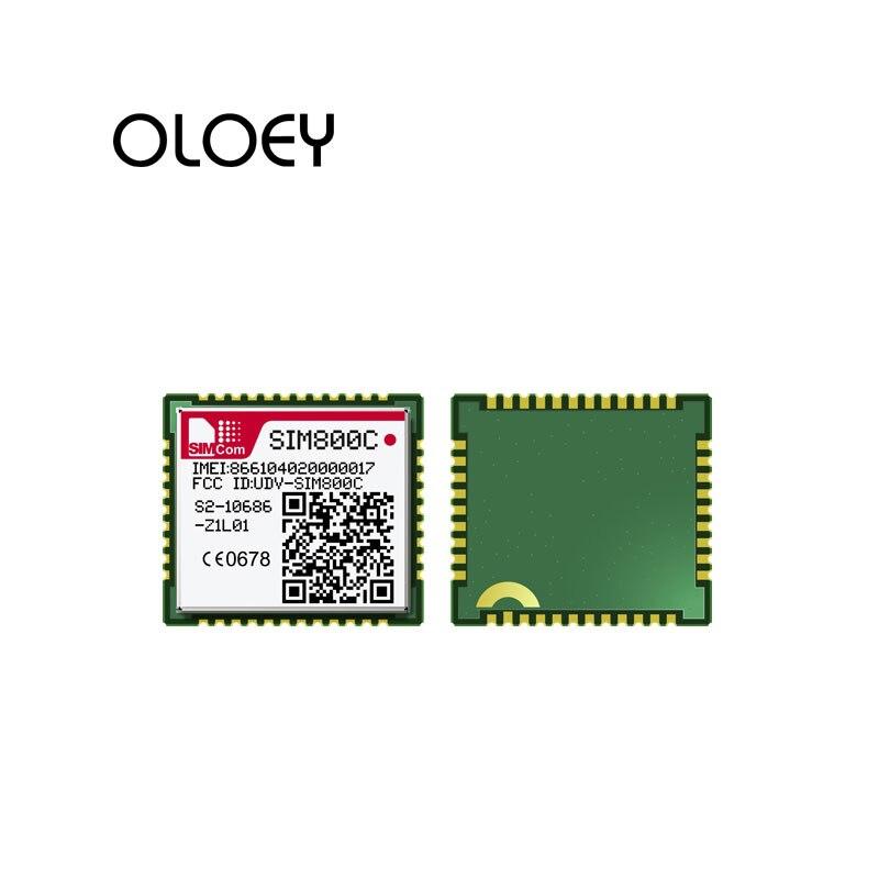 SIM800C 24M TTS Version Quad-band GSM/GPRS Module SMT Type Voice SMS And Data SIM800C