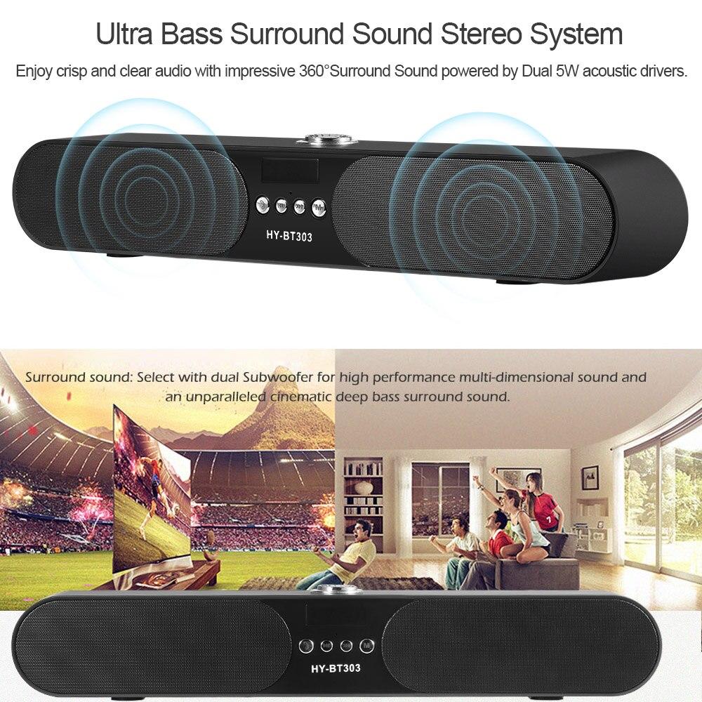 Tragbare 10 Watt Drahtlose Bluetooth Lautsprecher Soundbar Super ...
